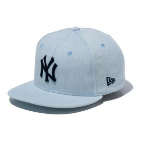 ポイント3倍!送料無料エントリー要30日9:59までニューエラ(NEW ERA) 9FIFTY ブリーチデニム ニューヨーク・ヤンキース ブリーチデニム 11901182 (Men's)
