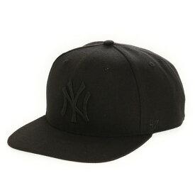 【30日限定!ポイント最大+4倍!0の日要エントリー】フォーティーセブン ブランド(47 Brand) MLB ニューヨーク・ヤンキース キャップ B-SRS17WBP-BKB0 (メンズ)