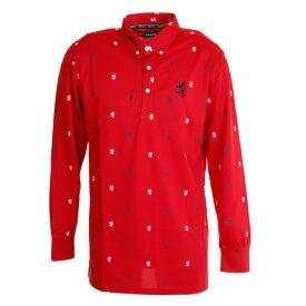 【買いまわりでポイント最大10倍!】アドミラル(Admiral) 総柄ランパントロングスリーブ ボタンダウンシャツ ADMA892-RED (Men's)