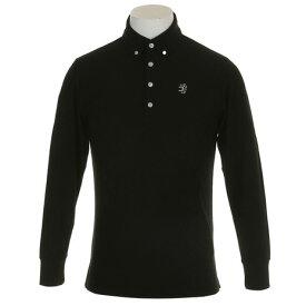 アドミラル(Admiral) ゴルフウェア メンズ UJ リンクス L/S BDシャツ ADMA8T6-BLK (Men's)