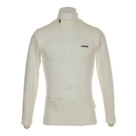アドミラル(Admiral) ゴルフウェア メンズ 無地ハイネックシャツ ADMA8T7-WHT (Men's)