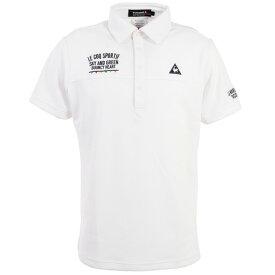 ルコック スポルティフ(Lecoq Sportif) クーリストフェスグラフィック半袖シャツ QGMPJA14-WH00 (メンズ)