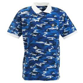 ポイント最大10倍!10日0:00まで楽天ゴールド会員以上V12 CAMOUFLAGE 半袖ポロシャツ V122010-CT21-NVY (Men's)