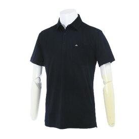 Jリンドバーグ(J.LINDEBERG) M Mikael Slim Cotton Poly 071-25449-098 半袖ポロシャツ (Men's)