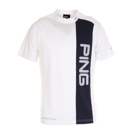 ピン(PING) 切替モックネックシャツ 621-1168005-030 (メンズ)