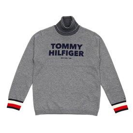 【30日限定!ポイント最大+4倍!0の日要エントリー】トミーヒルフィガー(TOMMY HILFIGER) ゴルフウェア メンズ タートルネックニット THMA982-GRY (メンズ)