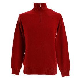 フィドラ(FIDRA) ゴルフウェア メンズ カシミヤセーター FV5GTJ01 RED FV5GTJ01 RED (Men's)