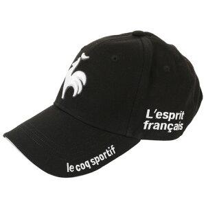ルコック スポルティフ(Lecoq Sportif) コットンロゴキャップ QG0262-N151 (メンズ、レディース)