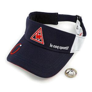 ルコック スポルティフ(Lecoq Sportif) クリップマーカーメッシュバイザー (ゴルフ衣料小物) QG0267-M193 (D) 付属品:D (Men's)