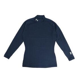 【買いまわりでポイント最大10倍!】アンダーアーマー(UNDER ARMOUR) ゴルフウェア メンズ コールドギア インフラレッド フィッティド ロングスリーブモックシャツ 1346698 ADY/HGY GO (Men's)