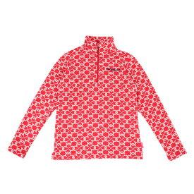 マリ・クレール スポール(marie claire sport) ジップハイネックシャツ 739505-RD (Lady's)