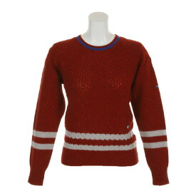 フィドラ(FIDRA) ネップニットセーター FI38UJ04 RED (Lady's)