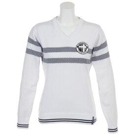 フィドラ(FIDRA) Vネックセーター FDA0712-WHT (Lady's)