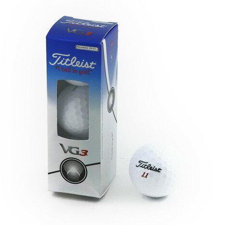 タイトリスト(TITLEIST) VG3 レインボーパール (ゴルフボール) T3024S-3P 【3個入】 【2016年モデル】 (Men's)