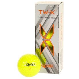 本間ゴルフ(HONMA) TOURWORLD TW-Xボール三個入り BTQ1908-YE (Men's、Lady's)