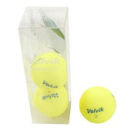 ボルビック(Volvik) VIVID LITE ゴルフボール 3個入り VIVID LITE YEL 3ケ (Men's)