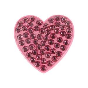 ナビカ(NAVIKA) ゴルフ クリップマーカー Heart Pink (Men's、Lady's)