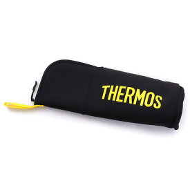 サーモス(THERMOS) ボトルポーチ900 FFX-900 Pouch ブラックイエロー キャンプ バーベキュー (Men's、Lady's)