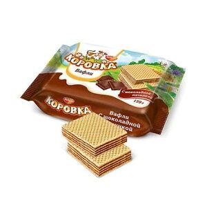 【ロシア】カロフカウエハース(チョコレートクリーム入り)