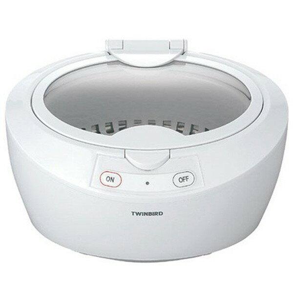【送料無料】TWINBIRD(ツインバード) 超音波洗浄器 EC-4518W ホワイト 【TC】【TW】【洗浄機・洗浄器・アクセサリー・眼鏡・メガネ・めがね】