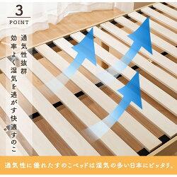 棚コンセント付き頑丈スノコベッドマットレス付きポラリスシングルポケットコイルマットレス送料無料すのこベッド高さ調整天然木パイン材コンセント付き高さ3段階高さ調節木製シンプル耐荷重200kgホワイトナチュラルウォルナット【D】