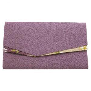 京・六条 彩や 日本製数珠袋 二つ折(すずらん) 11ラベンダー 957410119110