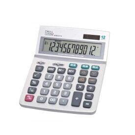 ナカバヤシ 電卓デスクトップ多機能タイプL ECD-2113S
