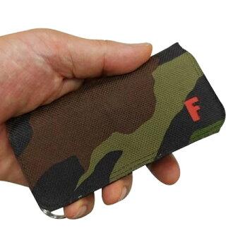 """手機硬幣持有人""""硬幣家""""專用的情况F1000僞裝色色"""