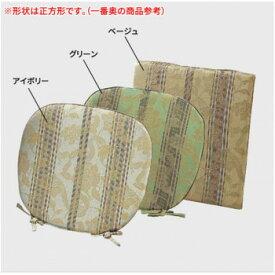 LN1415 川島織物セルコン 花とストライプ シートクッション 48×48