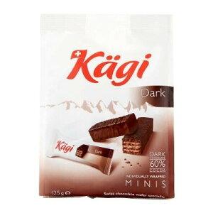 Kagi(カーギ) チョコウエハース ミニダークバッグ 125g×12袋送料込!【代引・同梱・ラッピング不可】  【北海道・離島・沖縄は送料別】