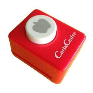 Carla Craft(カーラクラフト) クラフトパンチ(小) リンゴ CP-1 4100667【離島・沖縄は送料別】※北海道への配送は不可商品です。【代引・同梱・ラッピング不可】