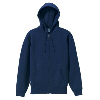 """Stuck to the soft """"brushed back"""" full zip parka CB5620 Navy size XL"""