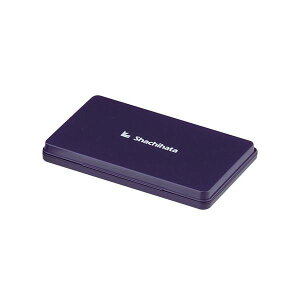 シヤチハタ スタンプ台 特大型 HGN-4-V 【インク色:紫】 1個