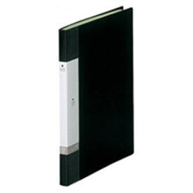 (業務用20セット) LIHITLAB クリアブック/クリアファイル リクエスト 【A4/タテ型】 固定式 20ポケット G3201-24 黒 送料込!
