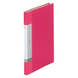 (業務用20セット) LIHITLAB クリアブック/クリアファイル リクエスト 【A4/タテ型】 固定式 20ポケット G3201-3 赤 送料込!