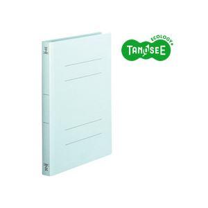 (まとめ)TANOSEE フラットファイル バインダー 2穴 <厚とじW>A4タテ 250枚収容 青 10冊入×20パック 送料無料!