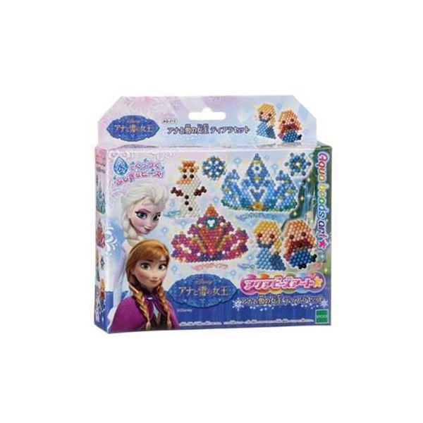 【ポイント5倍】エポック社 AQ-213 アクアビーズアート アナと雪の女王ティアラセット 【アクアビーズ】