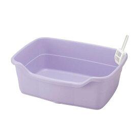 リッチェル NEWコロル ネコトイレ F60 紫 【ペット用品】