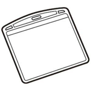 (業務用100セット) ジョインテックス 名札用替ケース パス名刺型横10枚 B073J 送料込!