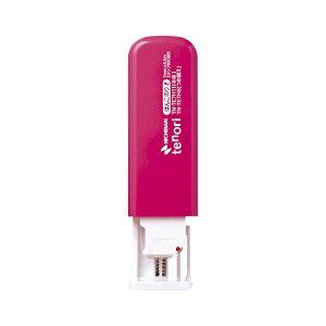 (業務用セット) ニチバン テープのりtenori(R)はんこのり(R) 本体 幅7mm×長6.5m TN-TE7H11 ピンク 1個入 【×5セット】