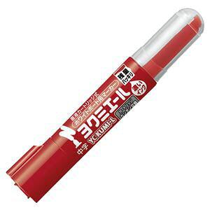 (まとめ) コクヨ ホワイトボード用マーカーペン ヨクミエール 中字・丸芯 赤 PM-B502R 1本 【×50セット】 送料込!
