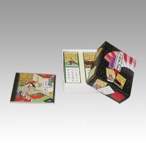 (業務用セット) エンゼル 百人一首 うぐいす 朗詠CD付 HIUG 1個入 【×2セット】 送料込!