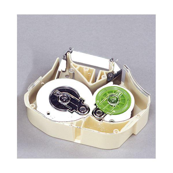 【ポイント2倍】(業務用セット) マックス チューブマーカー・レタツイン旧機種専用消耗品 インクリボンカセット LM-IR330W 白 1巻入 【×2セット】