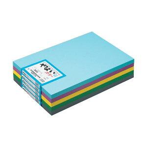 (まとめ) 北越製紙 やよいカラー8ッ切10枚 うすもも【×20セット】 送料込!