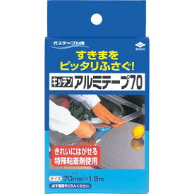 (まとめ)東洋アルミ 東洋 キッチンアルミテープ 70 【×5点セット】 送料込!