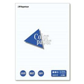 (業務用100セット) Nagatoya カラーペーパー/コピー用紙 【B4/最厚口 25枚】 両面印刷対応 ホワイト(白) 送料込!