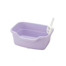 リッチェル NEWコロル ネコトイレ F40 紫【ペット用品】