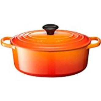 Le クルーゼ (Le Creuset) シグニチャーココット Oval 27cm orange!