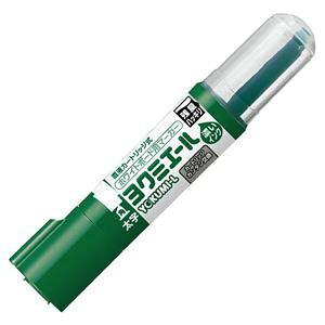 (まとめ) コクヨ ホワイトボード用マーカーペン ヨクミエール 太字・角芯 緑 PM-B513G 1本 【×30セット】 送料込!