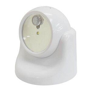 (業務用3個セット) TRAD 乾電池式LEDセンサーライト 【ホワイト】 TSL-1W 送料込!
